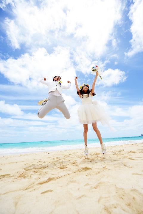ワイマナロビーチ 新婚