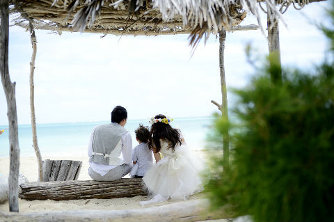 ワイマナロビーチ 新婚旅行